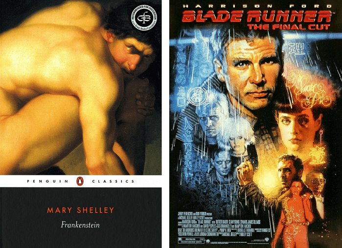 frankenstein and bladerunner essay structure