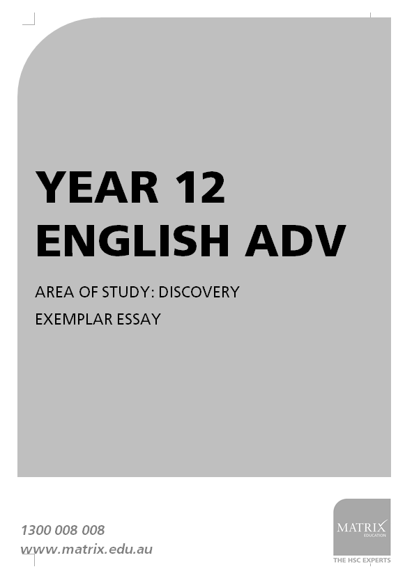 hsc english band discovery essay essay matrix education  your discovery essay annotations