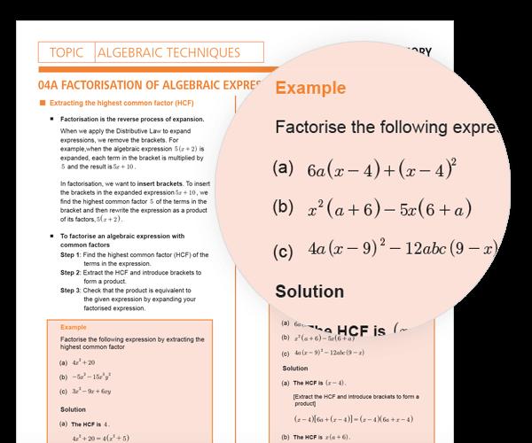 Year 9 Maths Exam Preparation Workbook | Max Series Volume 1