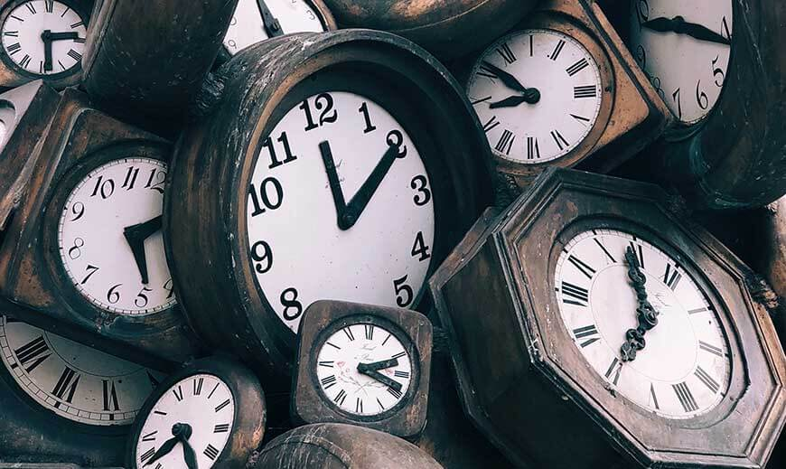 how-to-write-craft-of-writing-creative-clock-picture-of-an-anxiety-inducing-collection-of-clocks-tic-toc-tic-toc