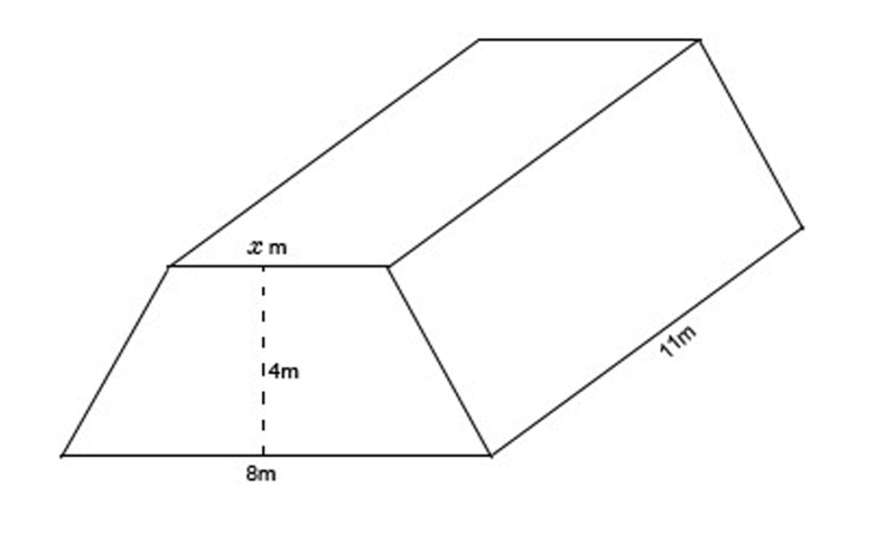 guide-maths-y-9-Volume-question-9-trapezoidal-prism