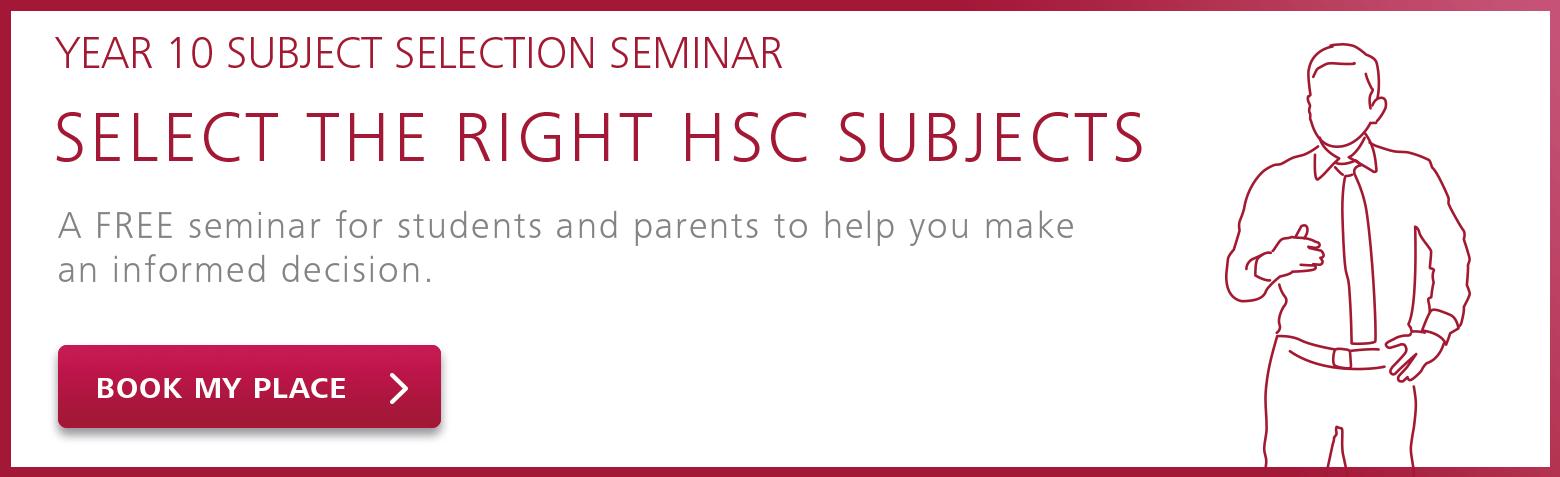 subject selection seminar link banner