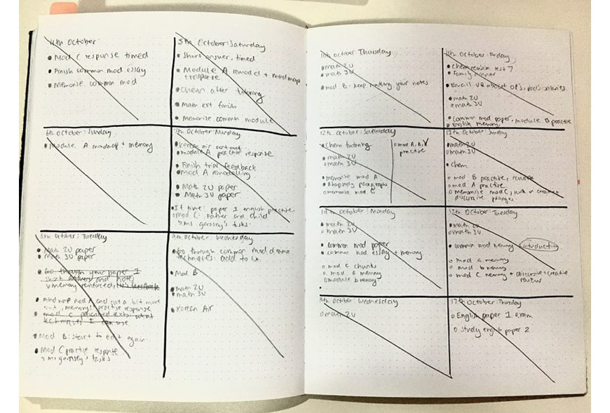 blog-hacks-kelly-hou-Master-Planning-and-Time-Management-in-9-Steps-to-Boost-Your-ATAR-hsc-task-list