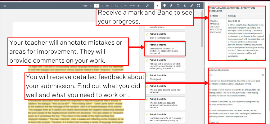 how-to-study-english-online-with-matrix+-feedback