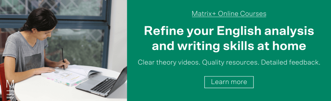 Essential English Techniques The Matrix Film Techniques Toolkit