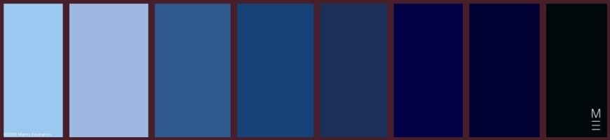 swatches for colour palette persona 4