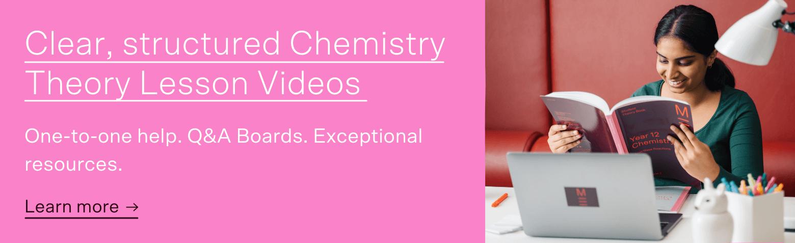 Chemistry HSC Prep clear structured HSC PREP COURSE CTA